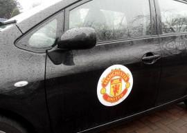MANCHESTER UNITED OFFICIAL CAR/FRIDGE MAGNET